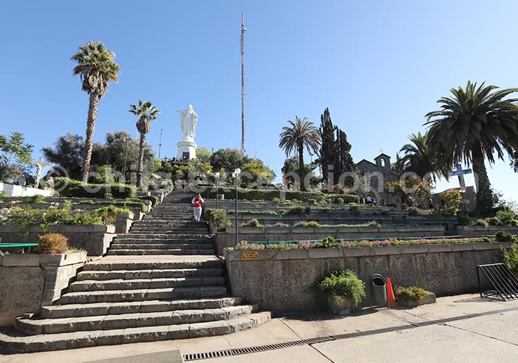 Visiter le Cerro San Cristóbal, Santiago