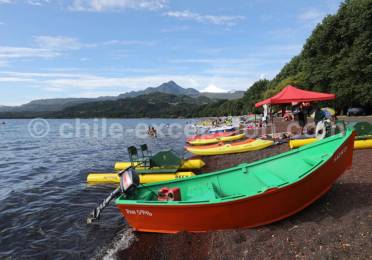 Coñaripe, région des lacs et volcans, Chili