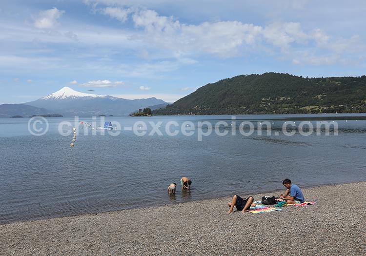 Calafquén, région des lacs, Chili