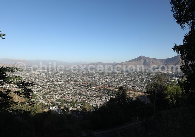 Montée du Cerro San Cristóbal