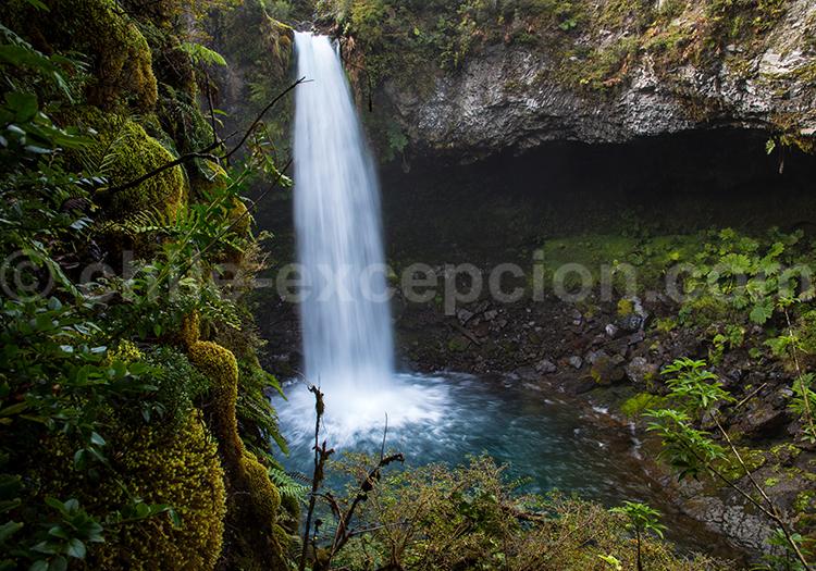 Cascade El Español, Parc Futangue, Chili avec Chile Excepción