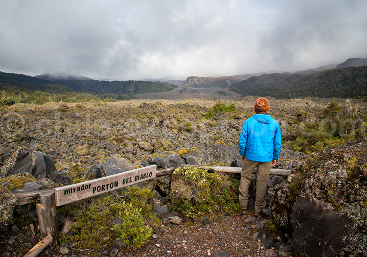 Randonnée Campos de lava, parc Futangue Chili avec Chile Excepción