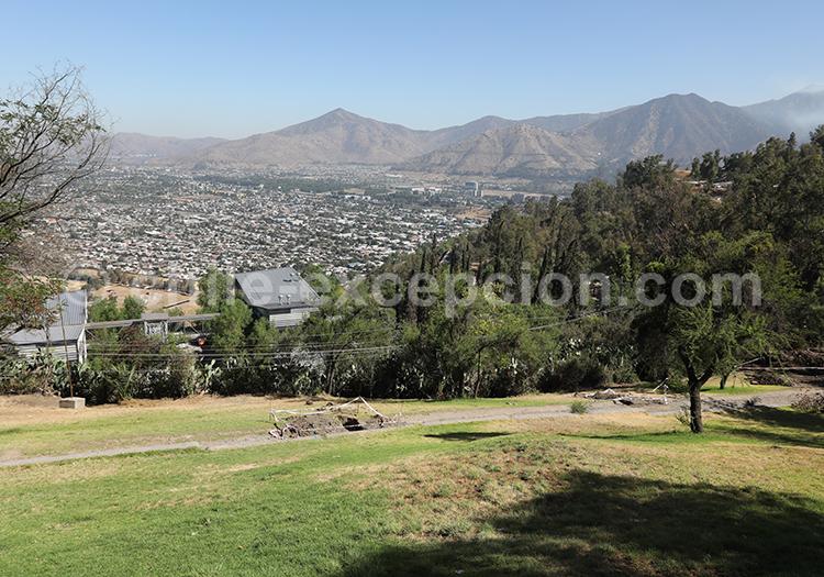 Visite du Cerro San Cristóbal en VTT, Santiago