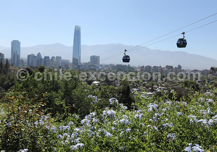 Que voir à Santiago : Cerro San Cristóbal, Cerro Santia Lucia
