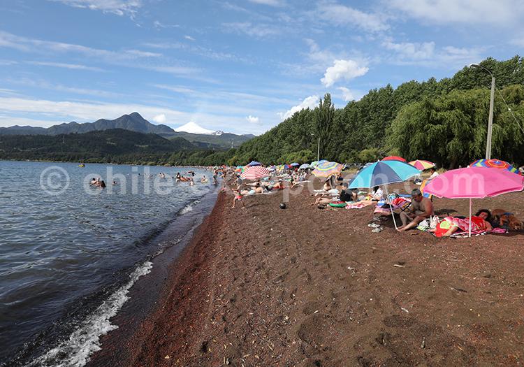 Coñaripe, région des lacs, Chili