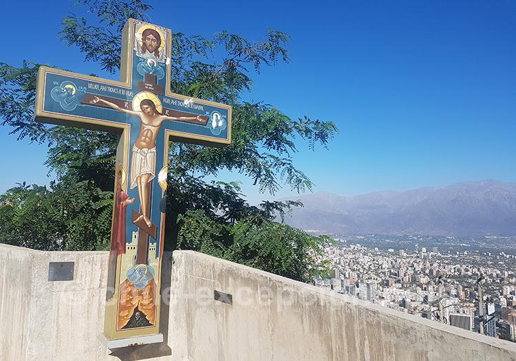Visiter le Cerro San Cristobal, Santiago