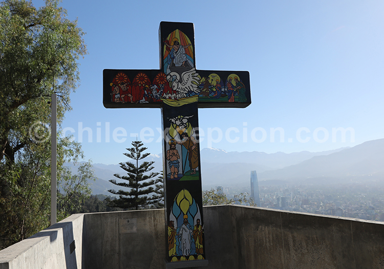 Croix, Cerro San Cristóbal