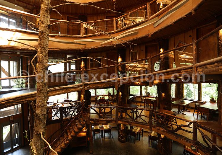 Nothofagus Spa Hotel, Réserve de Huilo Huilo, Chili