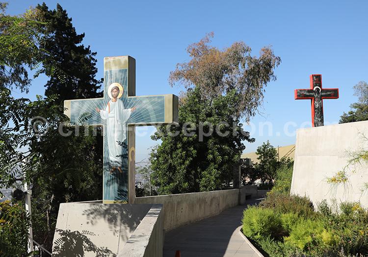 Camino de cruces, Cerro San Cristóbal