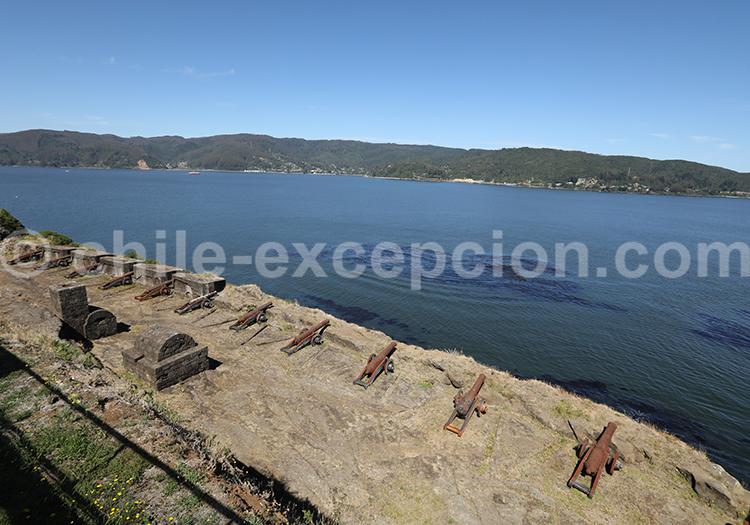Fort de Niebla, fleuve Valdivia, Chili