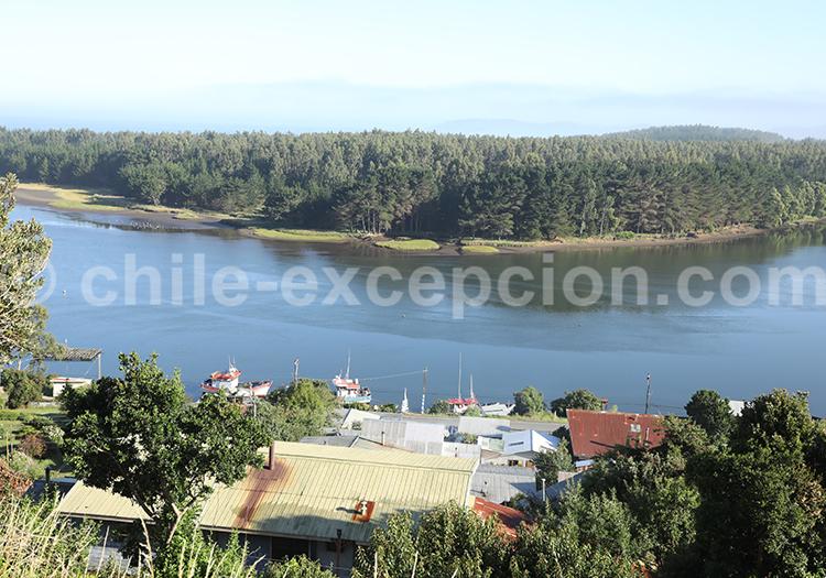 Queule, Sud du Chili