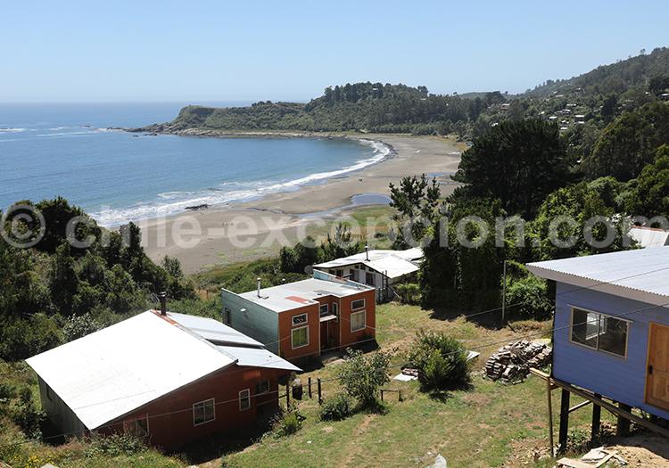 Los Molinos, village de pêcheurs du Chili