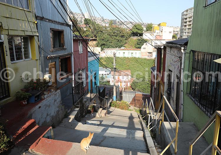 La ville poète de Valparaiso
