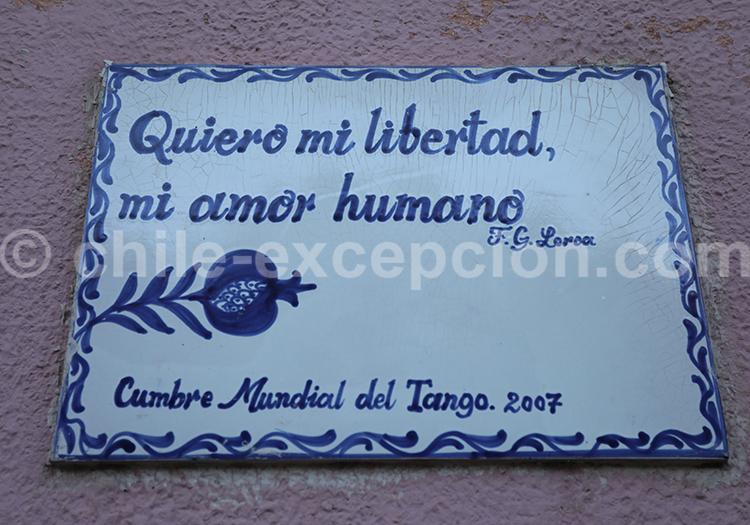 Citation de frederica garcia lorca, Valparaiso