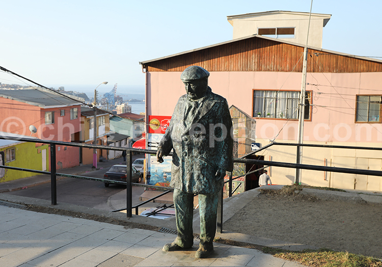 Pablo Neruda, Cerro Florida, Valparaiso