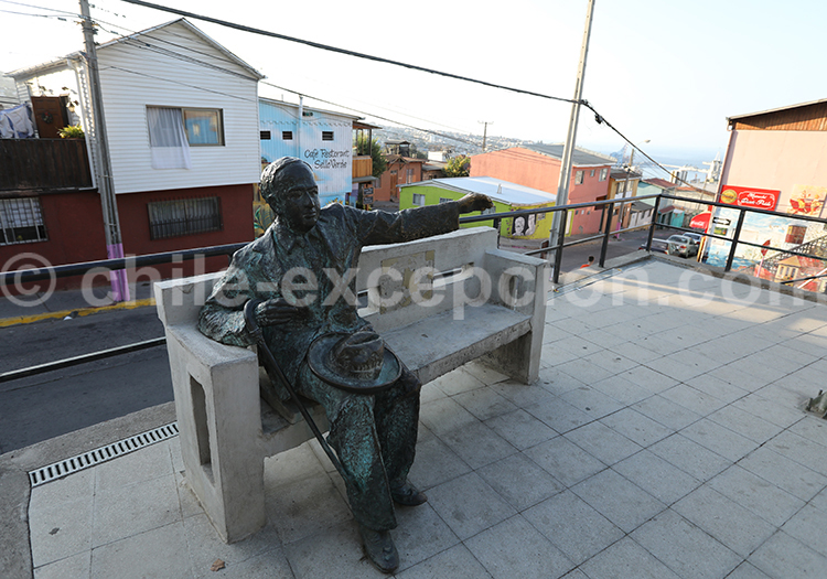 Vicente Huibrodo, Cerro Florida, Valparaiso