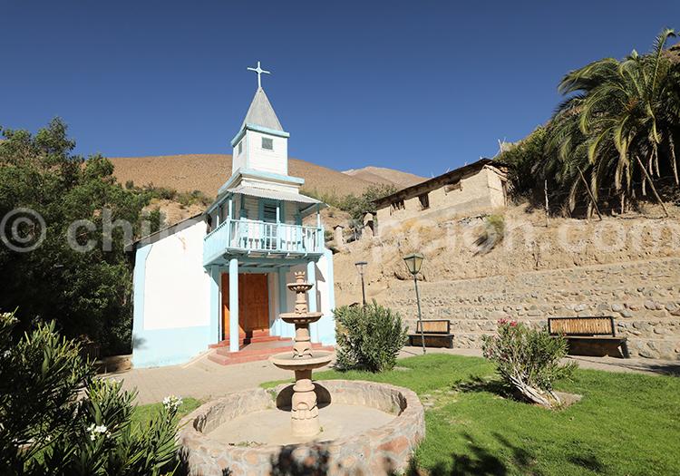 Église du village de Horcón, Chile