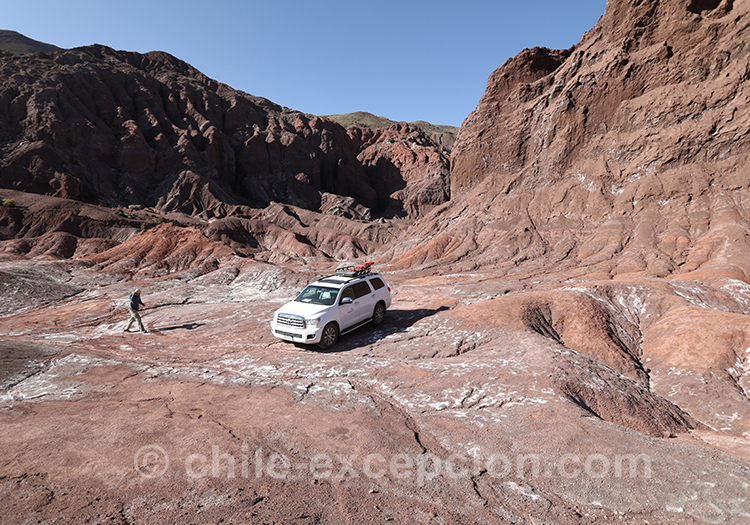 Excursion guidée, Valle del Arcoiris