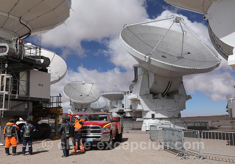 Observatoire Alma, découverte et visite exceptionnelle