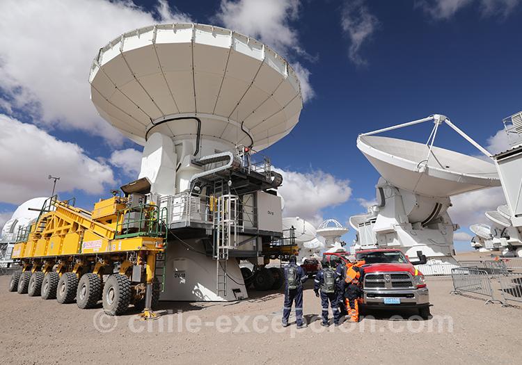 Découverte et visite de l'observatoire Alma