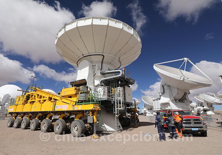 Observatoire Alma, destination unique pour l'astrotourisme