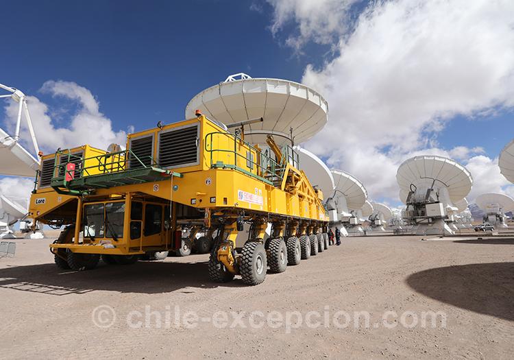 Observatoire Alma, visite guidée le weekend