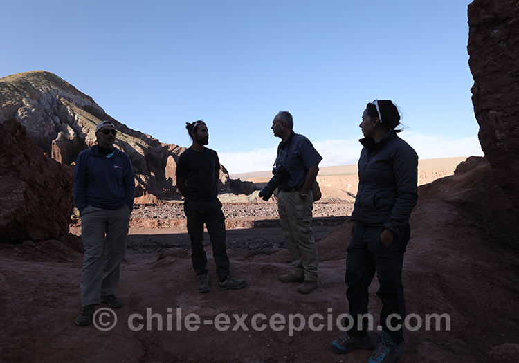 Agence de voyage locale à Atacama, Chili