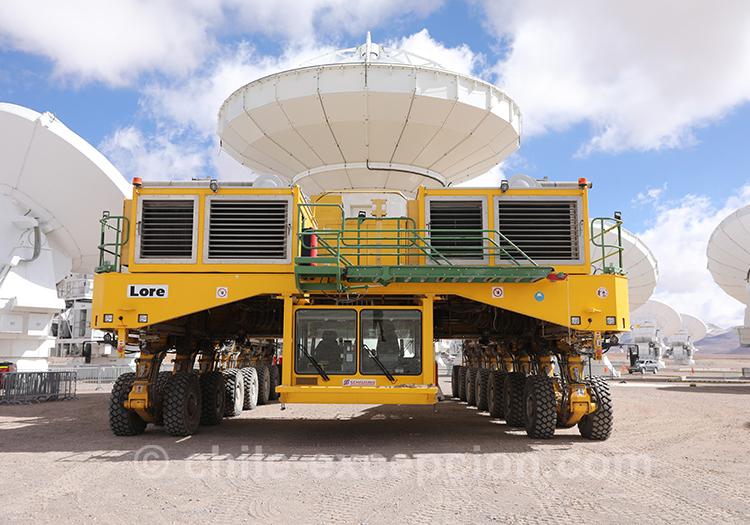 Journée de travail à l'observatoire Alma
