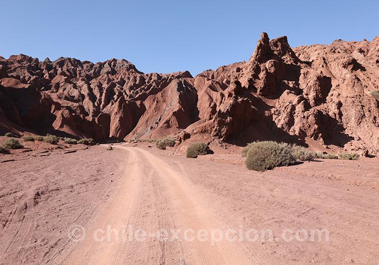 Route de Calama, Chili