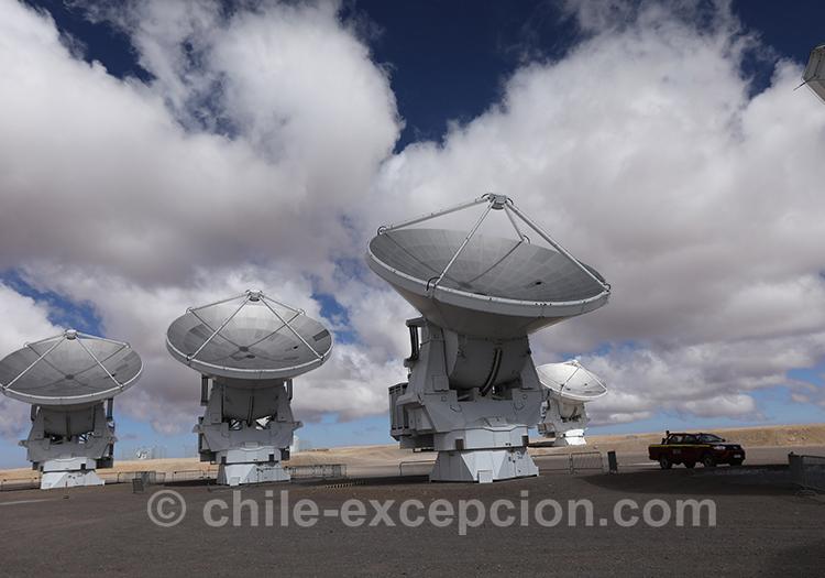 Observatoire Alma, Atacama, Chile