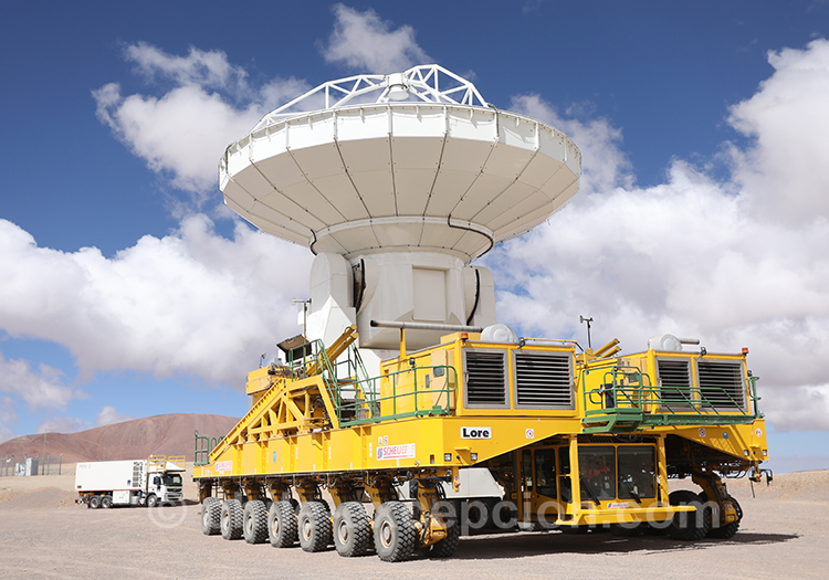 Mécanisme d'un observatoire astronomiq