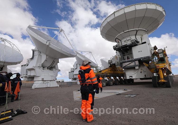 Observatoire Alma, plus grand téléscope au monde