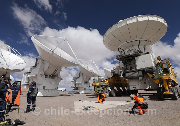 Atacama Large Millimeter submillileter Array, Chile