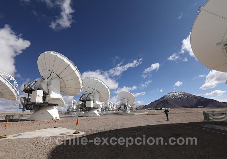 Observatoire Alma, trip in Chile