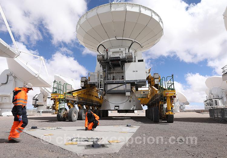 Observatoire de Chajantor, l'Alma