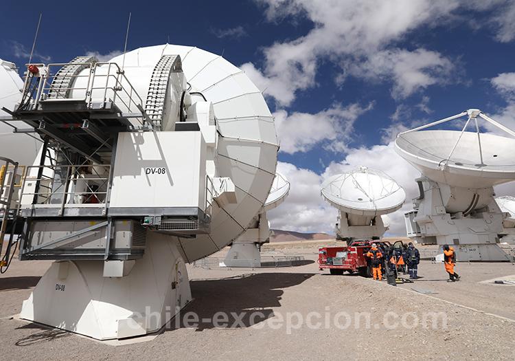 Observatoire Alma, San Pedro de Atacama