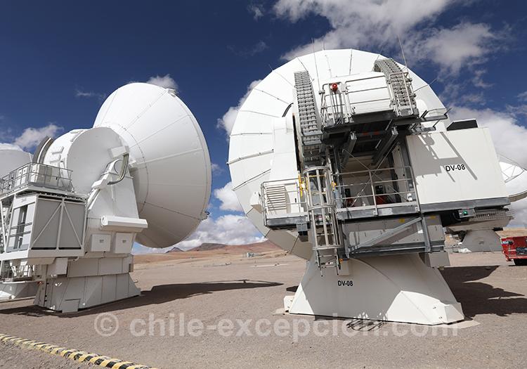 Observatoire Alma, désert d'Atacama