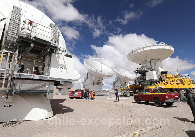 Observatoire Alma, Nord du Chili