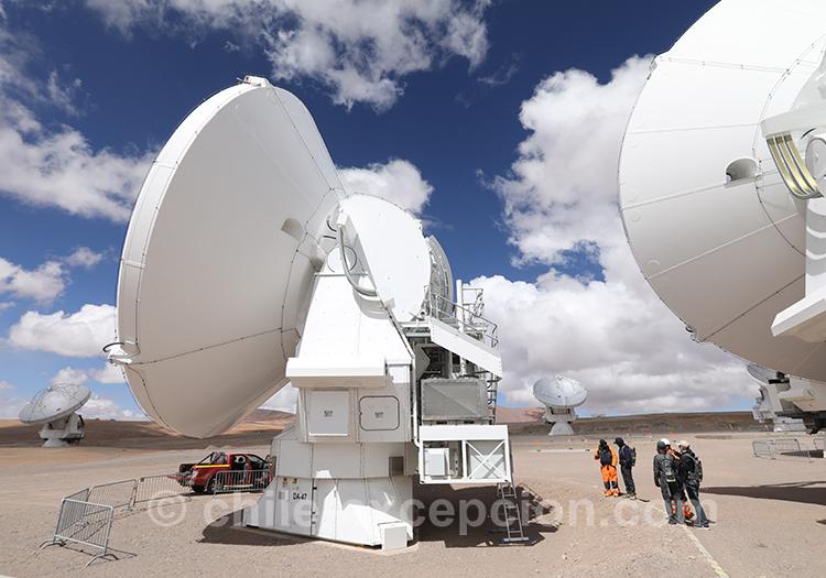 Téléscope, Chili