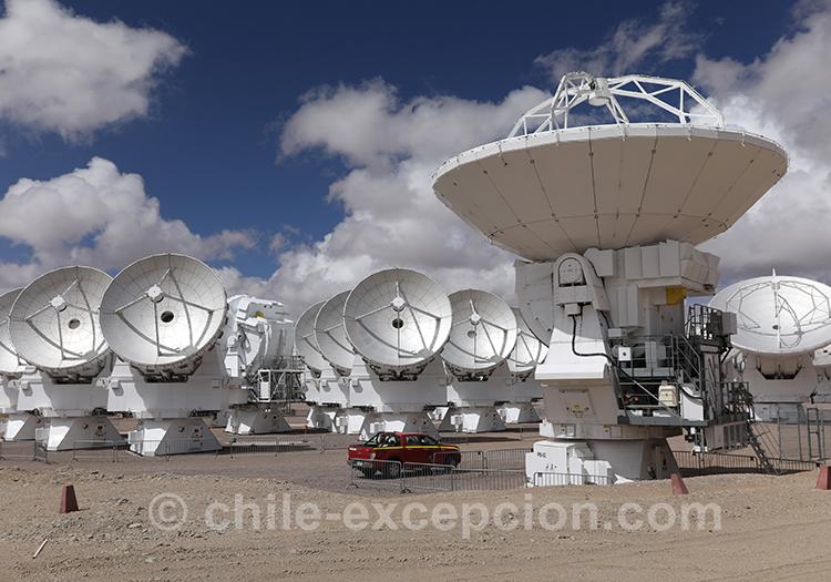 Voyage astronomique au Chili