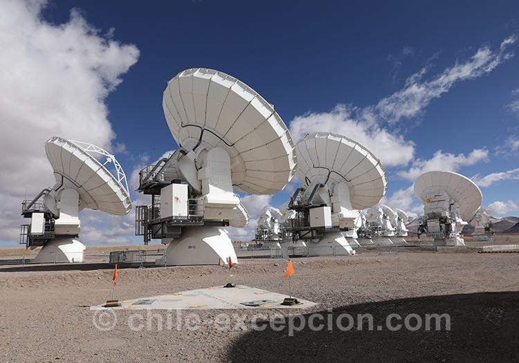 Observatoire Alma, visite guidée de jour
