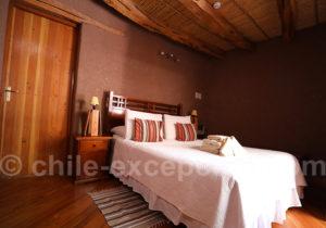Hôtel Kimal, chambre matrimoniale