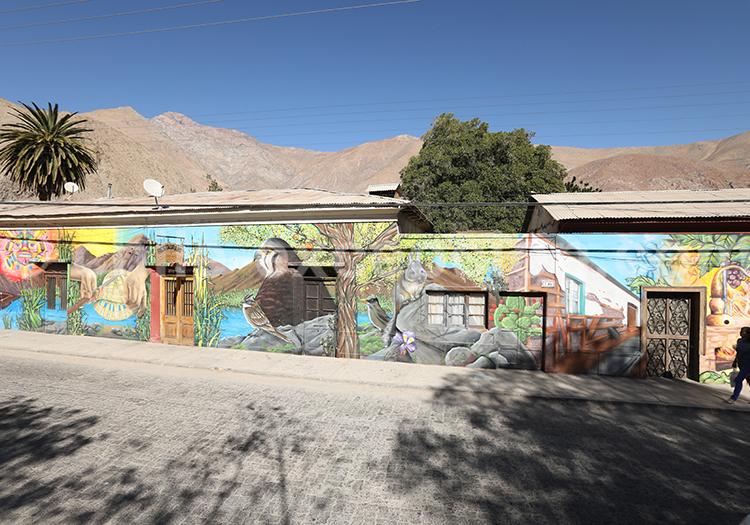 Village de Paihuano, Vallée de l'Elqui