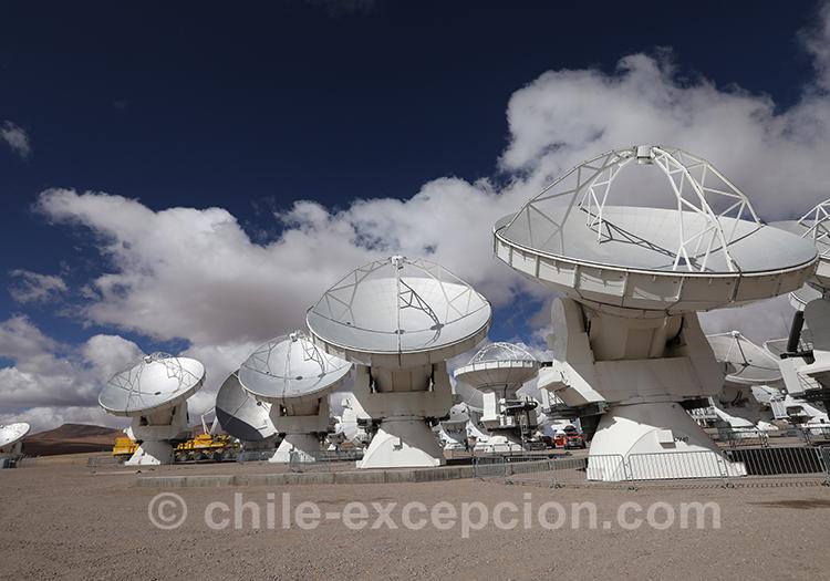 Observatoire Alma, observer les étoiles et les astres
