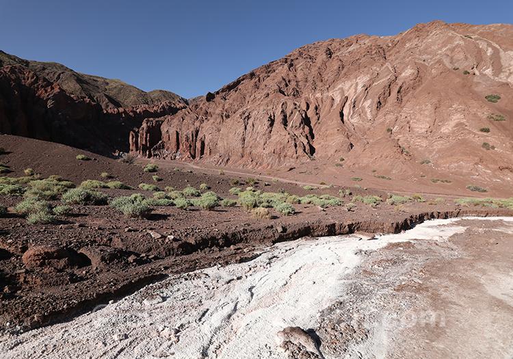 Découverte de la Valle del Arcoiris, Chili