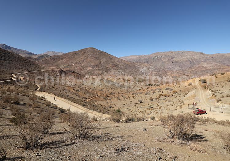 Tour astronomique en plein désert, Chili