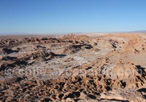 Vallée de La Lune depuis la Piedra del Coyote