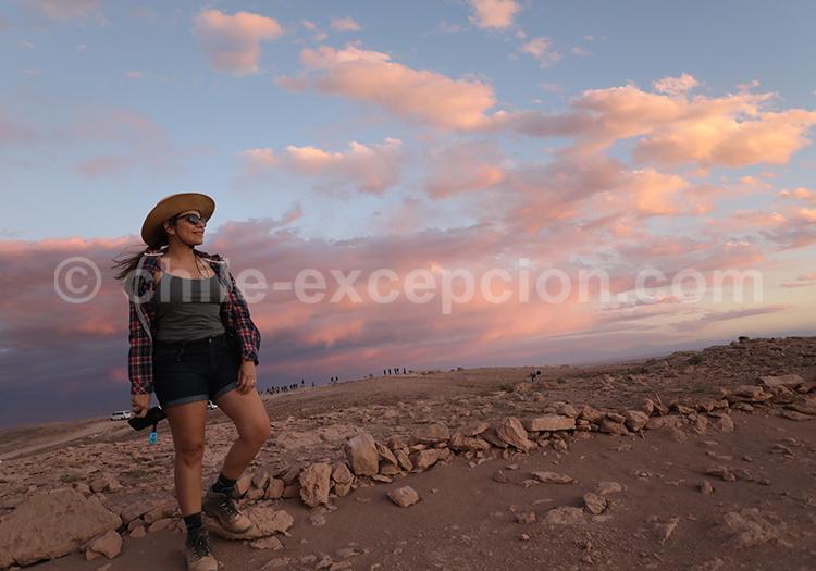 Coucher de soleil, Mirador Piedra del Coyote