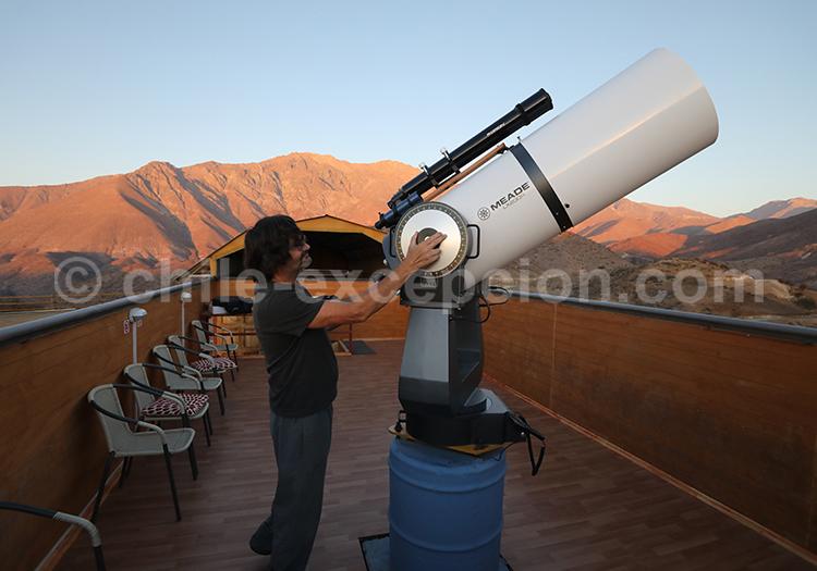 Téléscope, Observatoire el Pangue, Vallée de l'Elqui