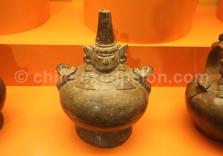 Musée Colchagua, vase indigène